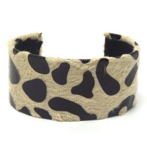 Jewelry - Animal Print Fur Cuff